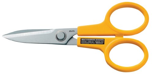 OLFA 9766 SCS-2 Stainless Steel Serrated Edge 7-Inch Scissors