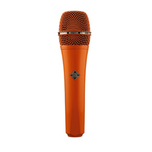 Brand New Telefunken | M80, Handheld Dynamic Cardioid Microphone, Solid Color Finish, Frequency Range : 30Hz / 18Khz, Impedance : 200 Ohms (Orange)