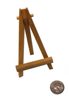 Reeves Mini Easel 5 Inch Natural Wood