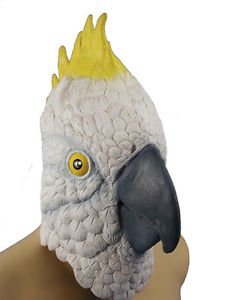 [Parrot Mask Halloween Costumes Adult Mens] (Parrot Costume Ebay)
