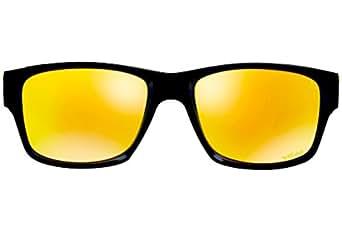 Oakley Jupiter Squared 9135 11 VR46 Ø56 lunettes plastic Black verres fire Irid