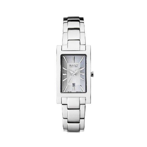 Gant W70042 - Orologio da polso da donna, cinturino in acciaio inox colore argento