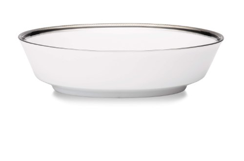 Noritake Austin Platinum Oval Vegetable Serving Bowl (Miniature Punch Bowl compare prices)