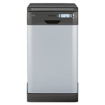hotpoint sdw80g slimline dishwasher in graphite. Black Bedroom Furniture Sets. Home Design Ideas