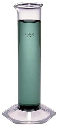 Kimble Chase KIMAX 20058-38375 Hydrometer Cylinder, Borosilicate Glass, 340mL