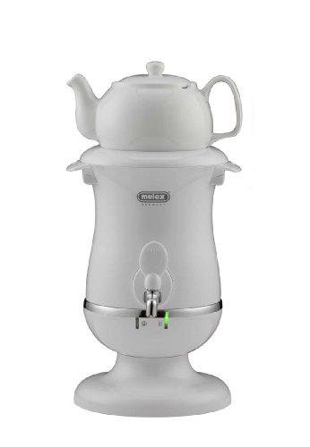 Mulex 290080 Tee Samowar 2 Liter, weiß