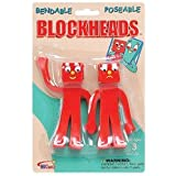 "Blockheads 5"" Pair"