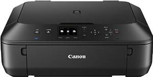 Canon Pixma MG5550 Tintenstrahl-Multifunktionsgerät (Kopierer, Scanner, Drucker, USB, WLAN) + USB Kabel & 5 Youprint Tintenpatronen (Originalpatronen ausdrücklich nicht im Lieferumfang)
