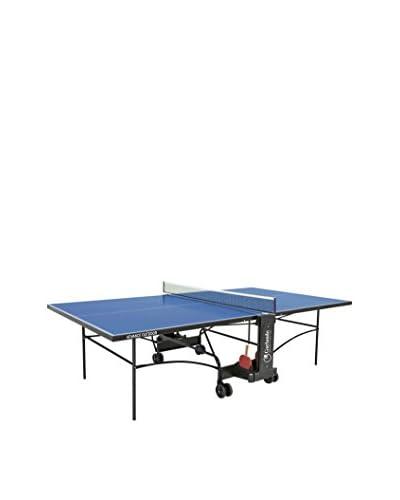 Garlando Mesa Ping Pong Advance Outdoor Con Ruote Per Esterno Azul
