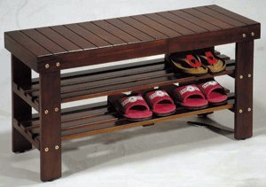 Click Here For great Size Wooden Shoe Bench