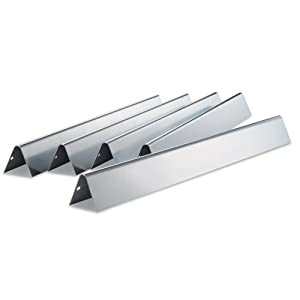 Weber Weber 7540 Stainless Steel Flavorizer Bars - Set of 5 by Weber-Stephen Products Co