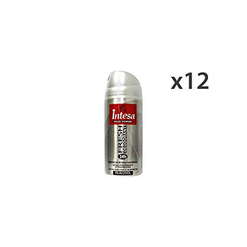 Set 12 INTESA Deodorante Spray Uomo Fresh 150 Ml. Cura del corpo