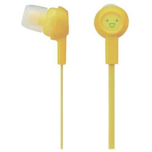 Fruit Beats - Yellow Smiley Face Emoticon Earbuds