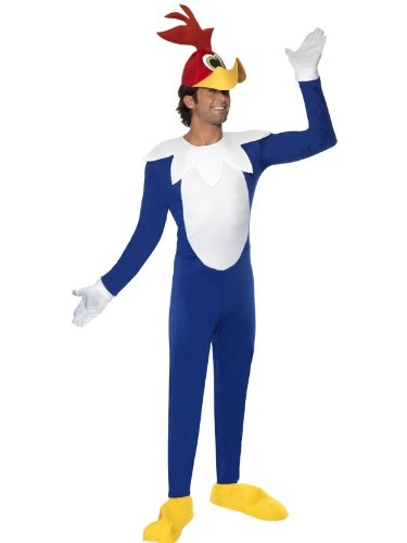 Woody the Woodpecker Costume Jumpsuit Adult