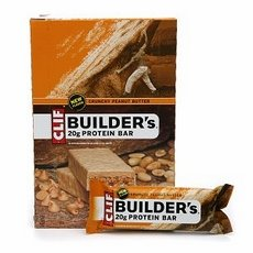 Clif Bar Builders Crunchy Peanut Butter Protein Bar, 2.4 Ounce -- 12 Per Case.