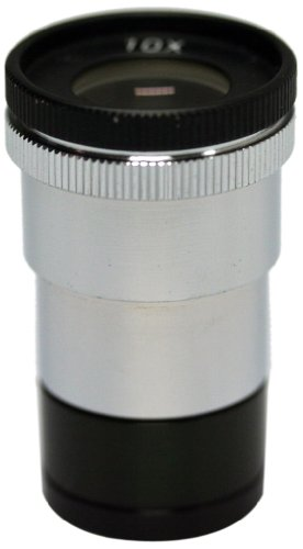 National Optical 610-188 Wf10X Eyepiece With Reticle, For 188 Shop Microscope