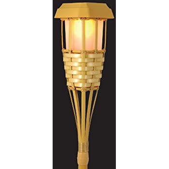 Solar Powered Tiki Torch LED
