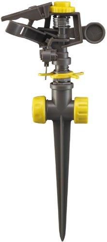 Robert-Bosch-Tool-Corp-Gilmour-50200-Plastic-Rain-Pulse-Sprinkler-Head-with-Spike