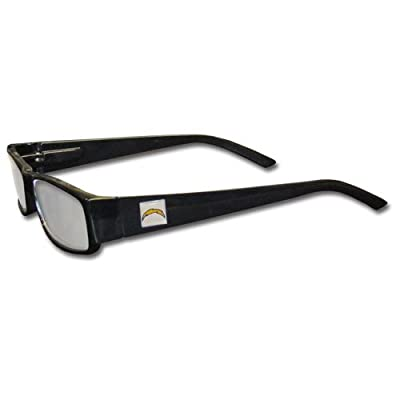 NFL San Diego Chargers Reading +1.75 Glasses, Black