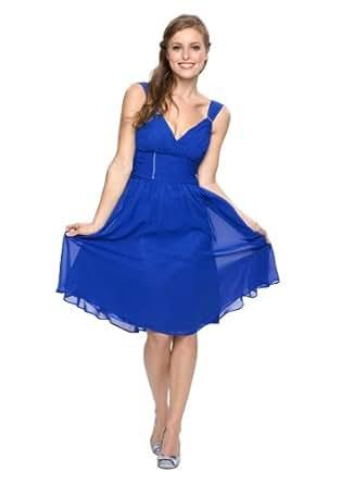 Astrapahl, robe de soirée, robe de cocktail, robe, couleur bleu, taille 34