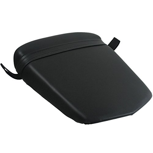 XFMT Black Motorcycles Leather Rear Pillion Passenger Cushion Seat For YAMAHA YZF R6S 2006 2007 2008 2009 YZF R6 YZFR6 2003 2004 2005 (2009 Yamaha R6 Seat Cowl compare prices)