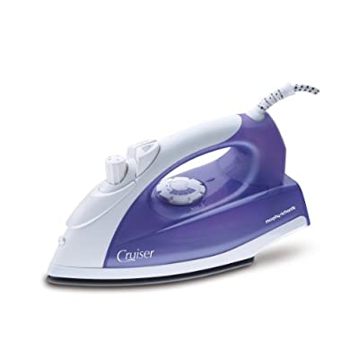 Morphy Richards Cruiser 1300-Watt Steam Iron (Purple and White)