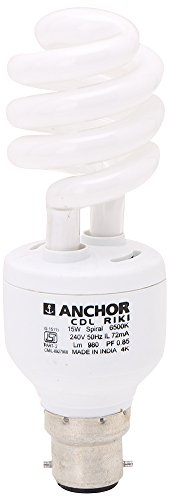 Anchor 15W CFL Bulb (White) Image