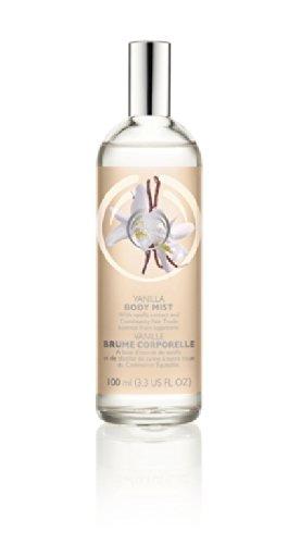 The Body Shop Body Mist, Vanilla, 3.3 Fluid Ounce