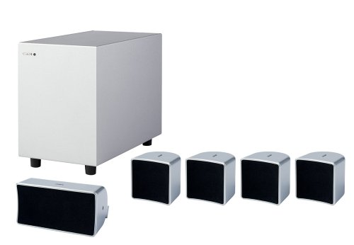 Jamo A102HCS5-SI - 5.1 Home Cinema Speaker Package - Silver