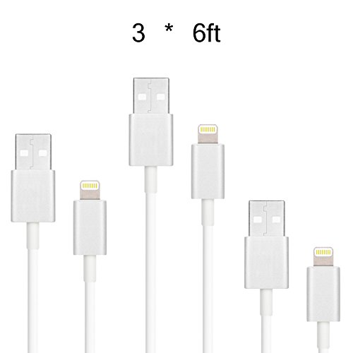Airtight Cellular Lightning Usb Charge And Sync Cables Iphone 5S 5 6Ft Set3