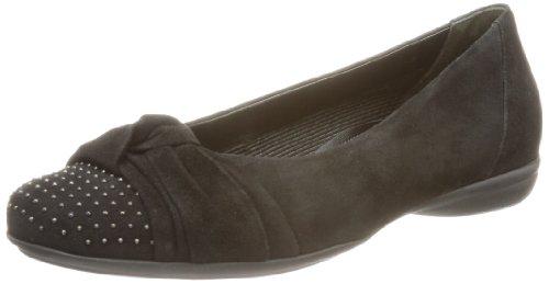 Gabor Shoes Gabor Comfort Ballet Flats Womens Black Schwarz (schwarz) Size: 4.5 (37.5 EU)