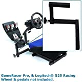 GameRacer Logitech G25 Racing Wheel Gated Gear Box Style Selector Mount