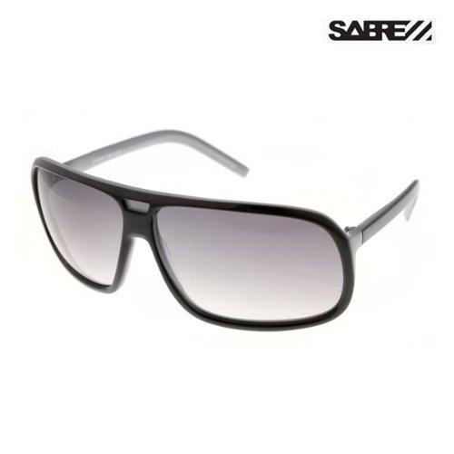 SABRE セイバーサングラス The Fuzz(ファズ)カラー6色/サングラス アイウェア サーフィン - BLK.WHITE.INSIDE/GREY