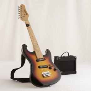 Musical Instruments: Electric Guitar & 5 Watt Amp
