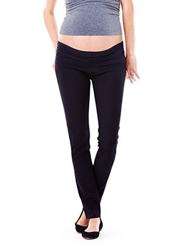 Ingrid & Isabel Women's Maternity Ponte Skinny Pants, Jet Black, Size 10 (Ponte Knit Skinny Pants compare prices)