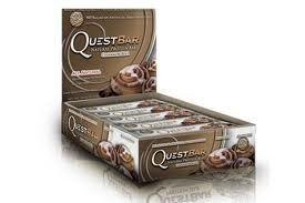 Quest Nutrition Protein Bars, Natural Cinnamon Roll (Pack of 24)