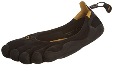 New Vibram Fivefingers Classic Black Ladies 35