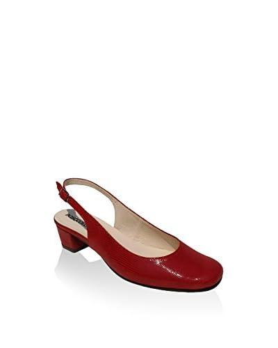 BOSCCOLO Zapatos de talón abierto Rojo EU 41