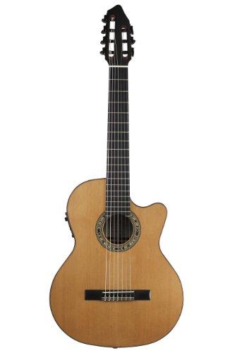 Kremona Fiesta Cw-7 Cutaway/Electric 7-String Russian Classical Guitar