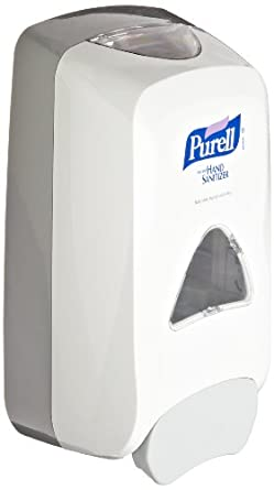 PURELL 5120-01 Dove Gray FMX-12 Dispenser with Glossy Finish, 1200 mL Capacity, Refill Not Included