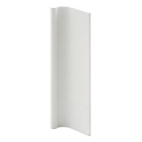 Slide-Co 163197-W Sliding Mirror Closet Door Pull, White (Sliding Mirror compare prices)