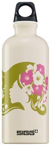 Sigg Design Water Bottle (0.6-Liters, Flower Girl) front-812530