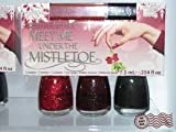 China Glaze Meet Me Under the Mistle Toe Christmas 2011