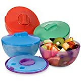 Fit & Fresh Kids Salad Pod, Assorted Colors ( Multi-Pack)