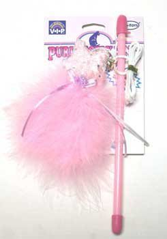 Vo-Toys Purrectly Pink Cat Teaser Wand