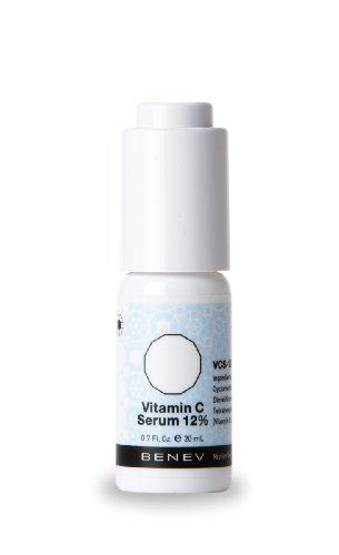 Benev Vitamin C 12% Serum Antioxidant and Skin Brightener 20ml