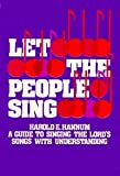 img - for Let the People Sing book / textbook / text book