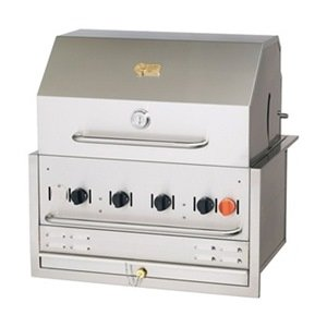 Built-In Grill, Natural Gas, 4 Burners