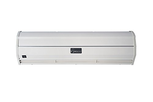 Awoco 900 CFM Commercial Indoor Air Curtain with Heavy Duty Door Switch, 36-Inch