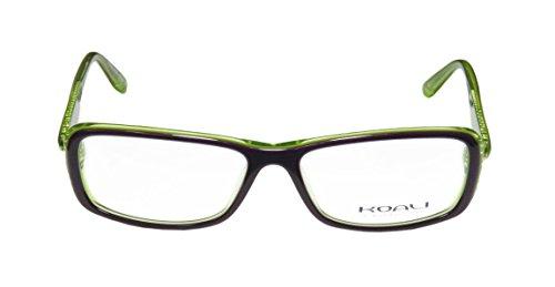 koali-7182k-womens-ladies-ophthalmic-demo-lens-designer-full-rim-eyeglasses-spectacles-54-15-130-pur